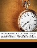 Main Principles of the Creed and Ethics of the Jews : Exhibited in selections from the Yad H...