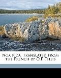 Noa Noa Translated from the French by O F Theis
