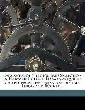 Catalogue of the Molière Collection in Harvard College Library, Acquired Chiefly from the Li...