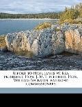 Report to Hon James W Rea, President, Hon J M Litchfield, Hon William Beckman, Railroad Comm...