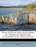 New genera and subgenera of augochlorine bees (Hymenoptera: Halictidae)