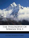 The Philosophy Of Spinoza Vol I
