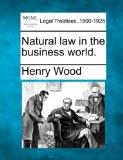 Natural law in the business world.