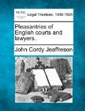 Pleasantries of English courts and lawyers.