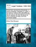 Wicked men ensnared by themselves: a sermon preached, December 16, 1825, in the Second Paris...