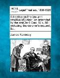 A treatise on the law and practice of juries: as amended by the statute 6 Geo. IV c. 50 : in...