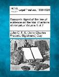 Roscoe's digest of the law of evidence on the trial of actions at nisi prius Volume 1 of 2