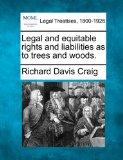 Legal and equitable rights and liabilities as to trees and woods.
