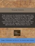 The circles of proportion and the horizontal instrument The former shewing the maner how to ...