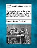 law of mines and mining in the United States / by Daniel Moreau Barringer and John Stokes Ad...