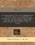 An account of the proceedings of the Corporation of Bristol in execution of the act of Parli...