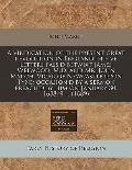 A vindication of the present great revolution in England in five letters pass'd betwixt Jame...
