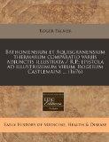 Bathoniensium et Aquisgranensium thermarum comparatio variis adjunctis illustrata / R.P.; ep...