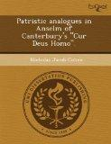 Patristic analogues in Anselm of Canterbury's