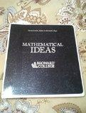 Mathematical Ideas: Second Custom Edition for Broward College (Required for course MGF1106 (...