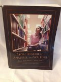 Legal Research, Analysis, and Writing (Custom Third Edition)
