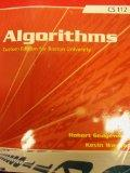 Algorithms [4 E] (Boston University | CS 112)