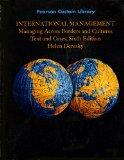 International Management. Managing Across Borders and Cultures