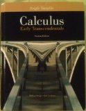 Single Variable Calculus Early Transcendentals Custom Edition