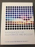 Mathematics for Economics and Biology