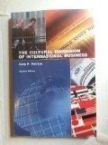 The Cultural Dimension of International Business (Custom Edition)