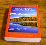 Real Texts Reading and Writing Across the Disciplines. Second Custom Edition for the Univers...