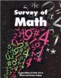 Survey of Math Second Custom Edition for Math 103