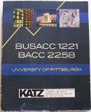 Busacc 1221, Bacc2258, Cost Accounting