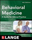 Behavioral Medicine A Guide For Clinical Practice