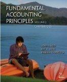 Fundamental Accounting Principles Volume 2 Chapters 12-25