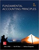 Fundamental Accounting Principles with Connect Plus Access Card