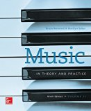 Music in Theory and Practice, Vol. 2 with Workbook