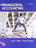 GEN COMBO LOOSELEAF MANAGERIAL ACCOUNTING; CONNECT ACCESS CARD