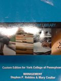 Management (Custom Edition for York College of Pennsylvania)