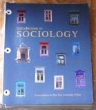 Intro to Sociology (Custom Edition for PPCC)
