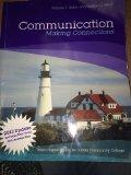 Communication Making Connections 3rd Custom Ed for Suffolk Community College