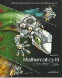 Mathematics III, Common Core, Volume 2 (2014), Custom Edition for Utah School Districts (Pea...