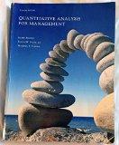 Quantitative Analysis for Management 11th Edition Custom 2012
