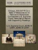 Chicago, M & St P R Co v. State of Minnesota ex rel Railroad & Warehouse Commission U.S. Sup...