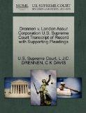 Drennen v. London Assur Corporation U.S. Supreme Court Transcript of Record with Supporting ...