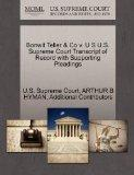 Bonwit Teller & Co v. U S U.S. Supreme Court Transcript of Record with Supporting Pleadings