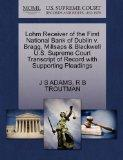 Lohm Receiver of the First National Bank of Dublin v. Bragg, Millsaps & Blackwell U.S. Supre...