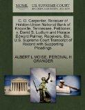 C. O. Carpenter, Receiver of Holston-Union National Bank of Knoxville, Tennessee, Petitioner...