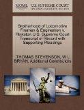 Brotherhood of Locomotive Firemen & Enginemen v. Pinkston U.S. Supreme Court Transcript of R...