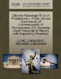Citizens Passenger R Co of Philadelphia v. Public Service Commission of Commonwealth of Penn...