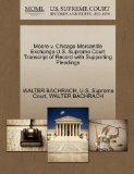 Moore v. Chicago Mercantile Exchange U.S. Supreme Court Transcript of Record with Supporting...