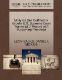 Molly-Es Doll Outfitters v. Gruelle U.S. Supreme Court Transcript of Record with Supporting ...