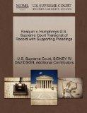 Rasquin v. Humphreys U.S. Supreme Court Transcript of Record with Supporting Pleadings