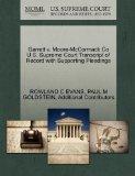 Garrett v. Moore-McCormack Co U.S. Supreme Court Transcript of Record with Supporting Pleadings