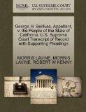George H. Beilfuss, Appellant, v. the People of the State of California. U.S. Supreme Court ...